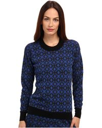 Paul Smith Jacquard Sweater - Lyst