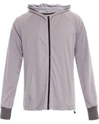 Christopher Raeburn Jersey Mesh Hooded Jacket - Lyst
