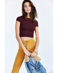 Silence + Noise - Off-the-shoulder Sweater Top - Lyst