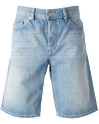 Diesel Denim Bermuda Shorts - Lyst