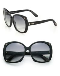 Tom Ford Oversized 59Mm Square Sunglasses - Lyst