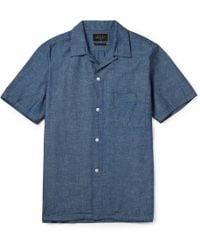 Beams Plus Camp Chambray Shirt - Lyst