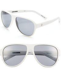 Converse - 'tall Tale Teller' 60mm Aviator Sunglasses - Lyst