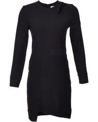 Iro Long Sleeve Polina Cuttout Dress - Lyst