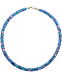 Peppercotton Necklace - Blue