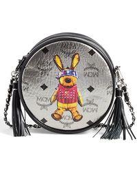 MCM - 'small Rabbit Tambourine' Crossbody Bag - Metallic - Lyst