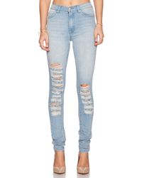 Cheap Monday Second Skin Skinny Jeans - Lyst