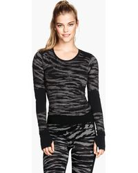 H&M Base Layer Top - Lyst