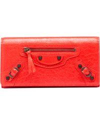 Balenciaga Red Classic Money - Lyst