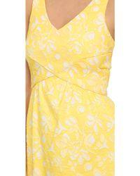 4.collective - Cross Wrap Flirty Dress - Lyst