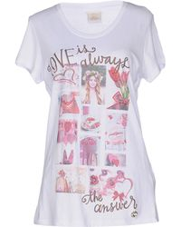 Maison Espin T-shirt - White