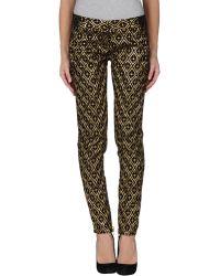 Balmain Casual Pants black - Lyst