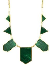 House Of Harlow Classic Station Necklace in Resin - Lyst