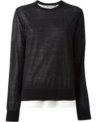 T By Alexander Wang Loose Sweater - Lyst