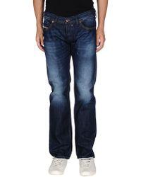 DIESEL Denim Trousers - Blue
