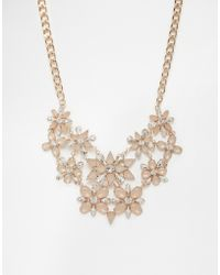 Coast - Eadie Floral Necklace - Lyst