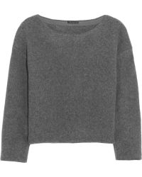 Theory Edasha Amazingly Felted Wool-blend Sweater - Lyst