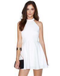 Nasty Gal White Anna Dress - Lyst