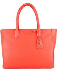 Cole Haan Leather Tote - Lyst
