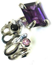 Sibilla G Jewelry Sibilla G Cool Jazz Amethyst Ring - Lyst