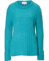 Paul & Joe Mohair Blend Textured Knit Pullover - Lyst