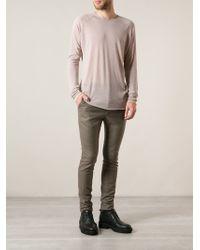Haider Ackermann Pink Basic Tshirt - Lyst
