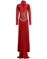 Victorio & Lucchino Long Dress - Red