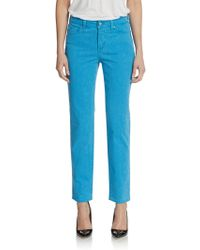 Not Your Daughter's Jeans Alisha Printed Fitted Ankle Jeans - Lyst