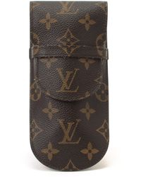 Louis Vuitton Monogram Case brown - Lyst