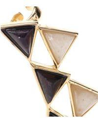 Isharya - Embellished Ear Cuffs - Lyst