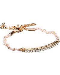 Tokyo Jane - Gold Lola String Bracelet - Lyst