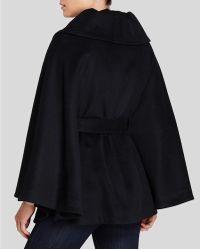Calvin Klein Belted Cape - Black