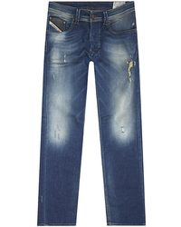Diesel Larkee Regular Straight Jeans - Lyst