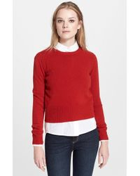 Marc By Marc Jacobs 'Iris' Wool Crewneck Sweater - Lyst