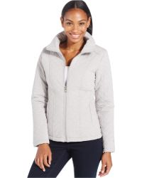 The North Face Danella Quilted Jacket gray - Lyst
