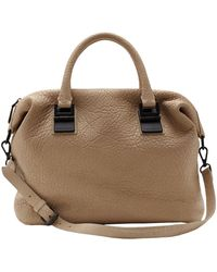 Vince Camuto Sloan Embossed Leather Satchel - Lyst
