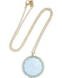 Ippolita - Gelato 18karat Gold Topaz and Diamond Necklace - Lyst