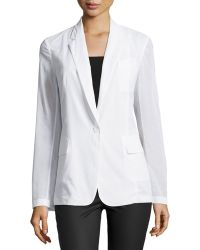 Theory Grinson P Crisp Voile Jacket - Lyst