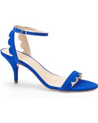 Loeffler Randall Blue Lilit Sandals - Lyst