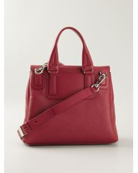 Givenchy Pandora Small Calf-Leather Shoulder Bag - Lyst