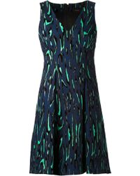 Proenza Schouler Flock Print Suit Dress - Lyst