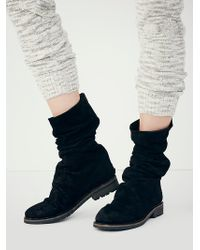 Free People Evertte Slouch Boot - Lyst