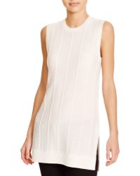 Theory Meenaly Cashmere Jumper - White