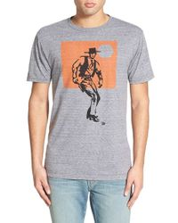 Ames Bros - . 'duel' Graphic T-shirt - Lyst