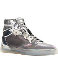 Balenciaga Multimatieres High-Top Sneakers - Lyst