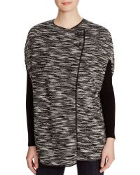 Romeo and Juliet Couture - Romeo + Juliet Couture Cape Style Jumper - Compare At $174 - Lyst