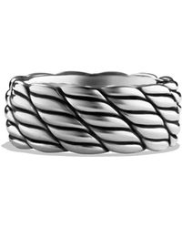 David Yurman - Maritime Rope Band Ring - Lyst