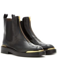 Marni Leather Chelsea Boots - Lyst