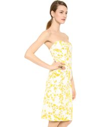 Wes Gordon Demi Lune Dress - Lyst