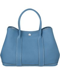 Hermes Blue Garden Party - Lyst